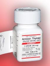 Armour Thyroid - det vanligaste läkemedlet med NDT